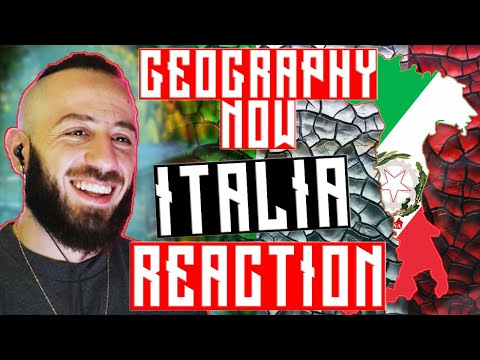 Canadian Reacts To Italy - Geography Now Reaction