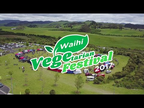 Waihi Vegetarian Food Festival 2017