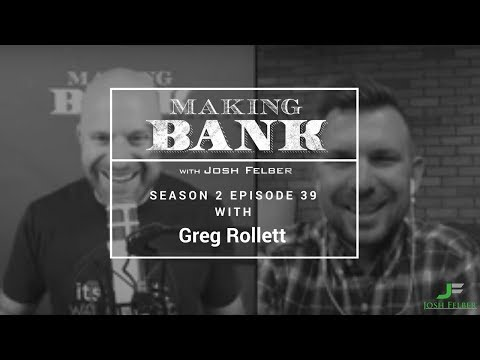 Ambitious Media Success with Guest Greg Rollett: MakingBank S2E39