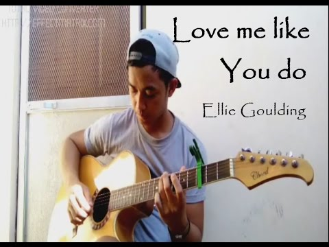 Ellie Goulding(+TABS)Love Me Like You Do (Guitar Fingerstyle) OST ...