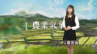 農業氣象預告1060426