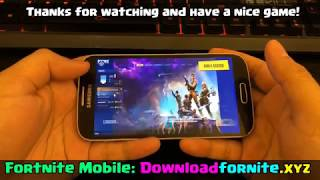 Fortnite Android Download | Fornite Mobile Download APK (BETA)