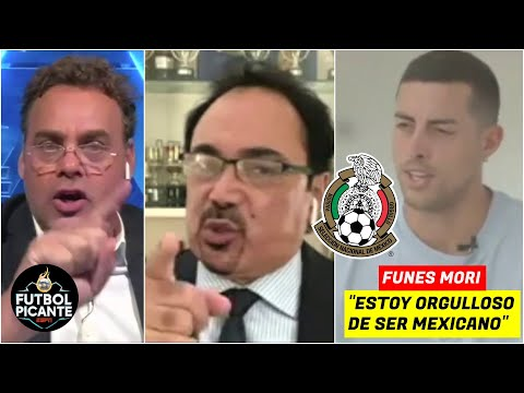 "Hugo ENFURECIÓ con Faitelson por Funes Mori. ""Le quita un puesto a un MEXICANO"". | Futbol Picante"