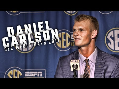 Marriage proposal made Auburn's Daniel Carlson 'a lot more nervous' than kicking a field goal