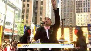 Chris Brown performs Forever on The Today Show