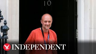 Dominic Cummings Leaves Downing Street With Pm's Support
