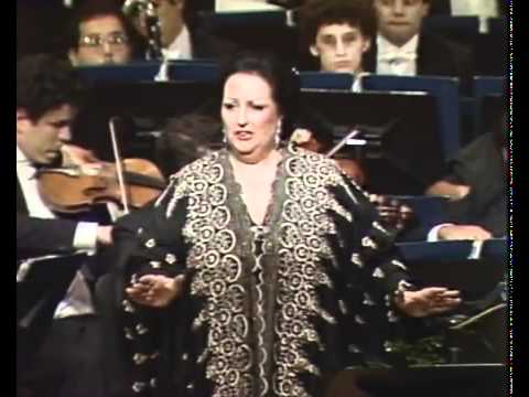 Montserrat CABALLÉ. Casta diva. Norma. Vincenzo Bellini.