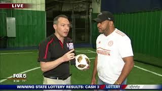Marietta Indoor Sports w/Fox 5 - 8am on 05/31/2018