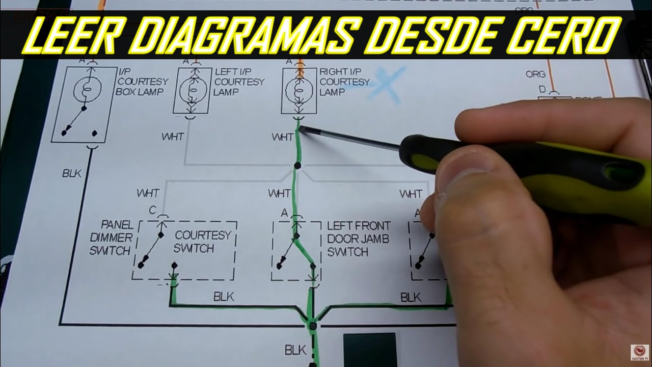 Como Leer Diagramas Electricos Automotrices 2018  Version