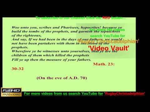 Zechariah Study Pt 2  A Call to WORK Mr John Martin