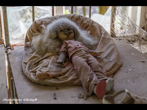 Чернобыль. Заброшенный детский сад в селе Копачи /Abandoned kindergarten in the village Kopachi