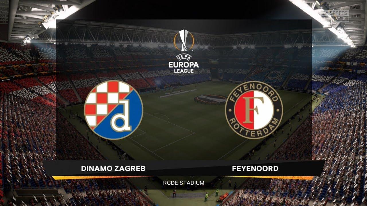 Dinamo Zagreb Vs Feyenoord Uefa Europa League 22 October 2020 Prediction Youtube