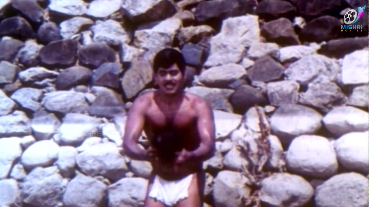 Tamil Actor Yogaraj In A Very Small Komanam ,Loincloth -6342