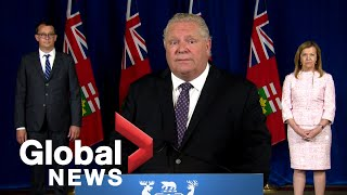 Coronavirus: Ontario releases COVID-19 safety guidelines for businesses as they reopen | FULL