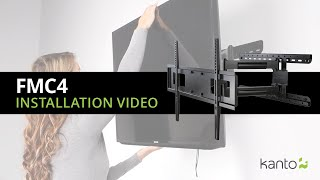 FMC4 TV Mount Installation Guide | Kanto Mounts