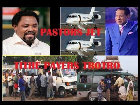Pastors have private Jets and Luxury Cars while Church Members rush for trotro...eiii