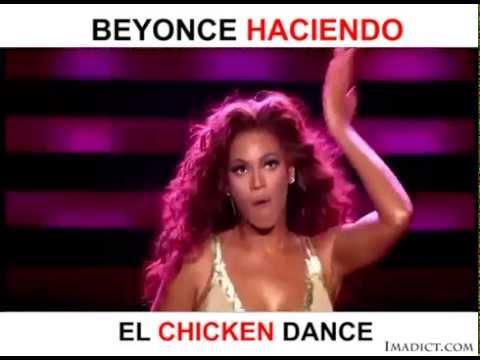 Beyoncé Haciendo El Chicken Dance