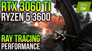 Ray Tracing on RTX 3060 Ti | 10 Games Tested on 1440p (Ryzen 5 3600)