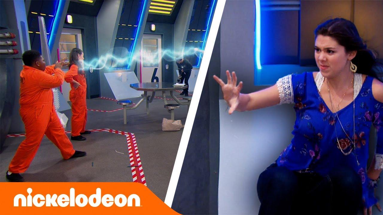 Los Thundermans | Pelea de cosquillas | Nickelodeon en Español