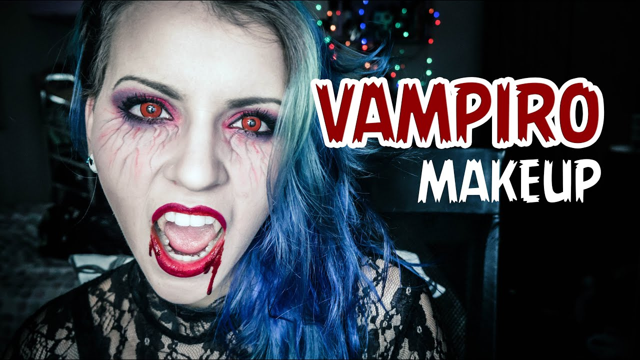 vampiro maquiagem f225cil e r225pida vampire makeup