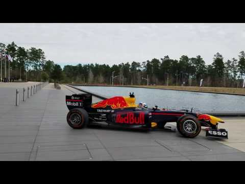Redbull F1 event at ExxonMobil Houston Campus 2017