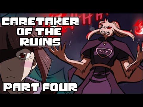 Caretaker of the Ruins Part 4 (Undertale Comic Dub)