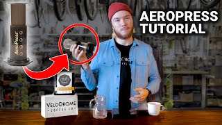 Coffee Brewing, How to Make the Best Aeropress - Velodrome Coffee Company, Brice Sturmer