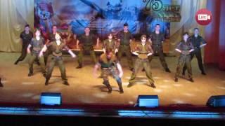 Ансамбль песни и танца ВС РБ на юбилее 11-й мехбригады в Слониме (2017)