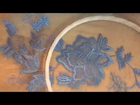 видео: Имитация вышивка кружева макраме на сетке. Швейная машинка. 1 часть🌹embroidery sawing machine