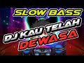 Dj Kau Telah Dewasa Slow Bass Dj Terbaru  Mp3 - Mp4 Download