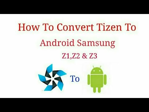 How to make full android samsung z1 part 1