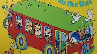 The Wheels on the Bus - Annie Kubler / Nursery rhyme / children's song in English / mothergoose /노부영