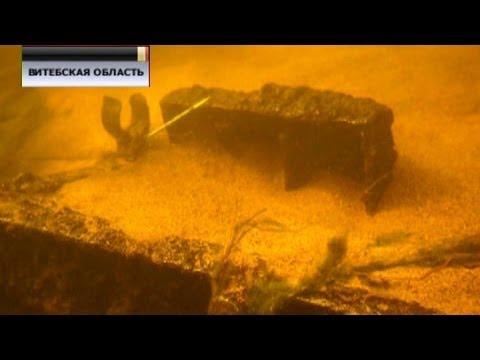 На дне Западной Двины дайверы нашли орудие времен Второй мировой