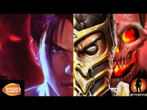 Tekken X Mortal Kombat (TTT2 Multi-character CMV)