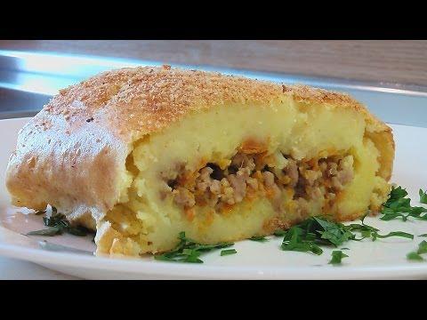 Запеканка с грибами и картофелем фаршем в духовке рецепт с фото пошаговый