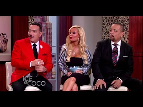 Anthony Rubio on Ice-T and Coco Austin Talk Show - Pet Fashion