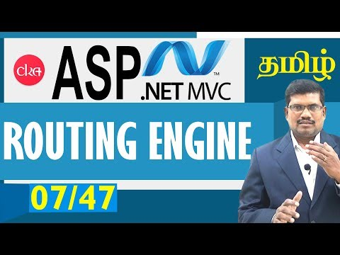 #7 Routing Engine in Asp.net MVC || ASP.NET MVC IN TAMIL