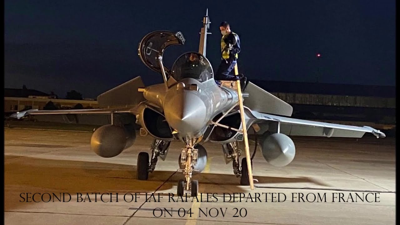 The second batch of three Rafale aircraft arrived in India, today.