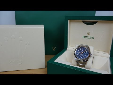 4K Review: Rolex Sky-Dweller 326934 Unboxing