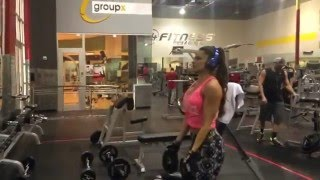 Superset shoulders with plates by Anais Zanotti.