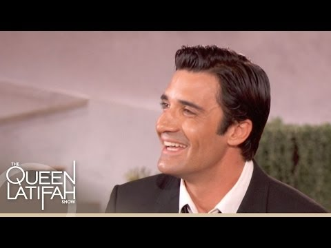 Gilles Marini talks about his Son's Reaction to His Racy s  The Queen Latifah