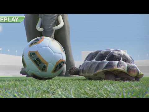 Athletic ~ Animals Funny Football goalkeeper
