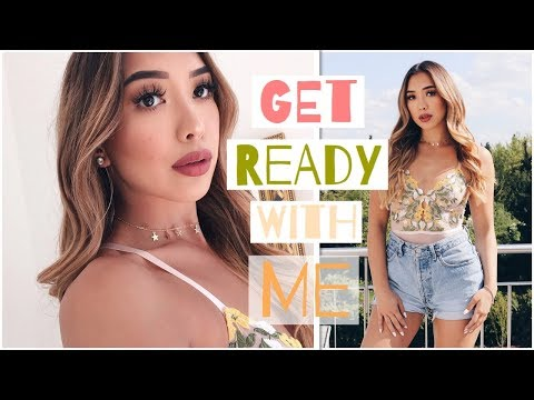 🌼GRWM/ Summer Edition/ Hair, Make-up & Outfit -Adorable Caro