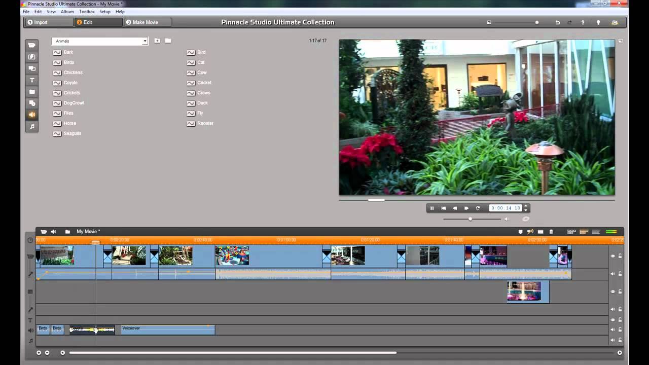 Pinnacle Studio 24 - Video Editing Programma
