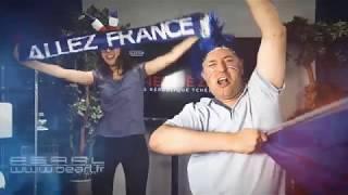 Ambiance Coupe du Monde de Football 2018 au studio TV de Pearl