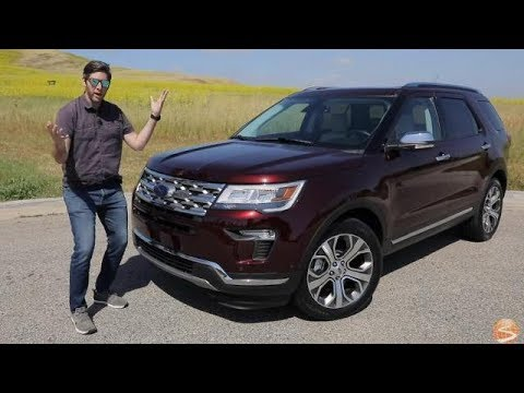 2019 Ford Explorer Limited Test Drive Video Review