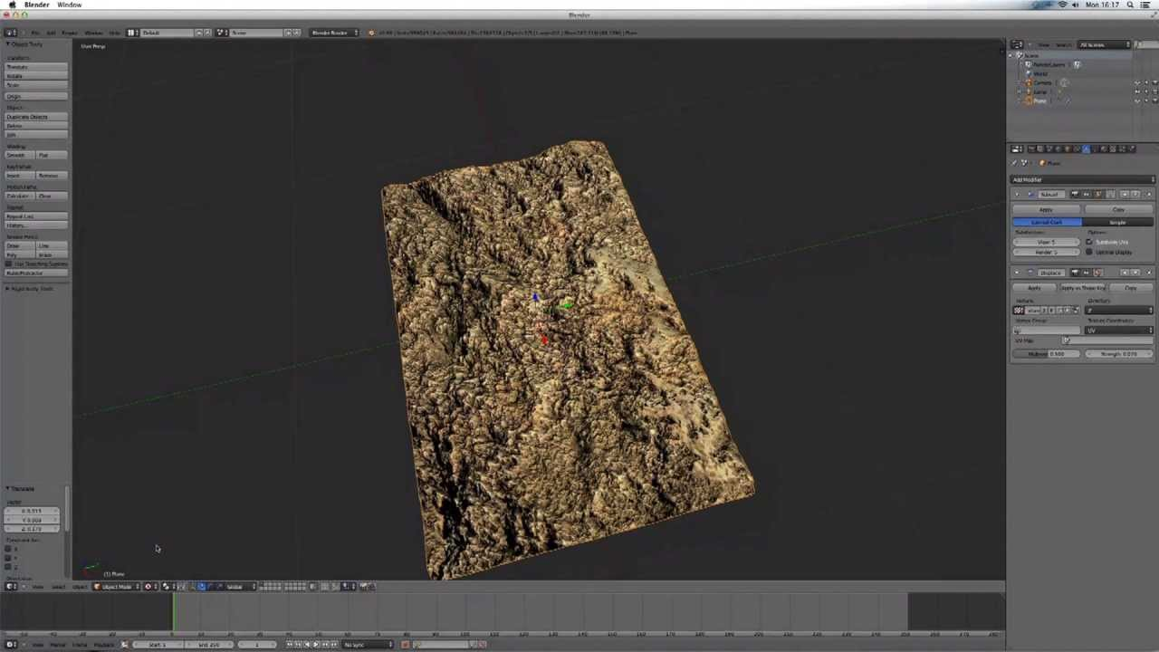 Blender Tutorial How To Create 3d Textures Quick And