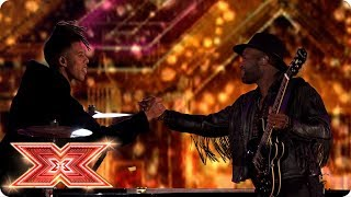 Duet time: Kevin Davy White performs with Tokio Myers | Final | The X Factor 2017