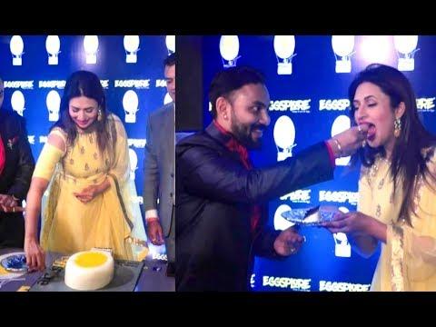 Divyanka Tripathi At Grand Opening Ceremony 'EGGSPLORE' Restaurant