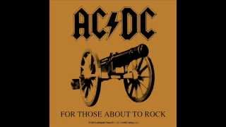 ACDC For Those About to Rock (We Salute You)